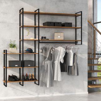 Organização e armazenamento de mobiliário do lar